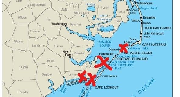 The Geography and Horses of Coastal North Carolina – Corolla ...