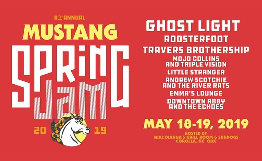 Corolla Wild Horse Fund events - Mustang Spring Jam