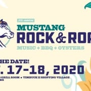 Mustang Rock and Roast event - BBQ Oyster Roast - Live Music
