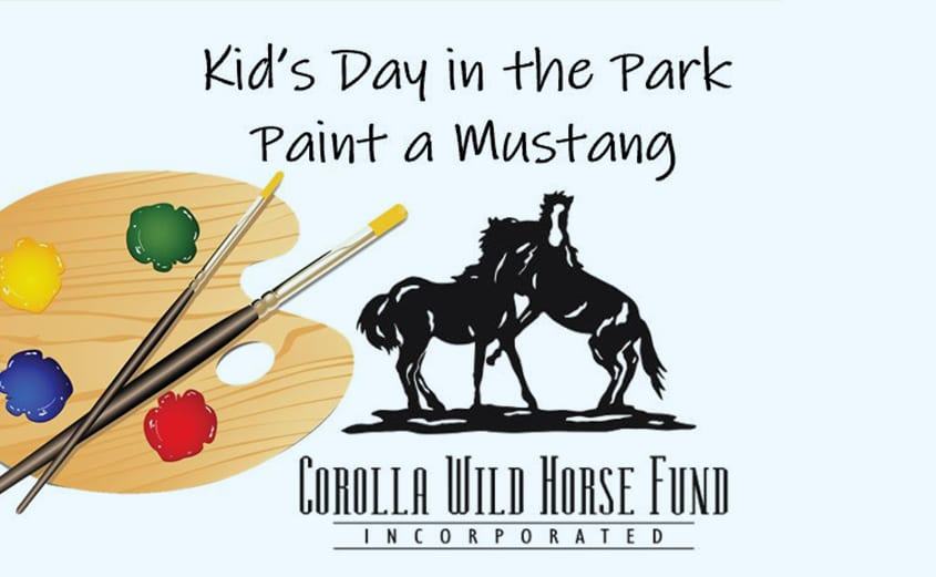 CWHF Kids Day in the Park - Paint a Mustang